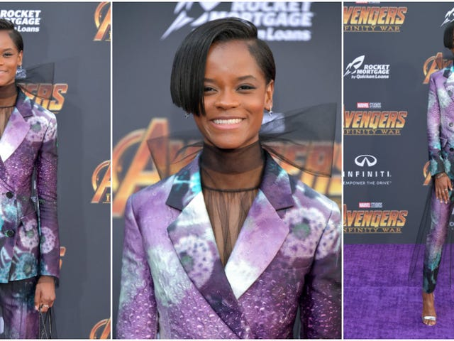 Is That Suit Vibranium? Wakanda Returns for the Avengers: Infinity War Premiere