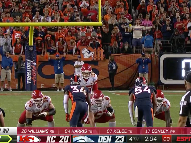 Broncos Say Referees Admitted To Missing Chiefs' Delay Of Game During Winning Drive