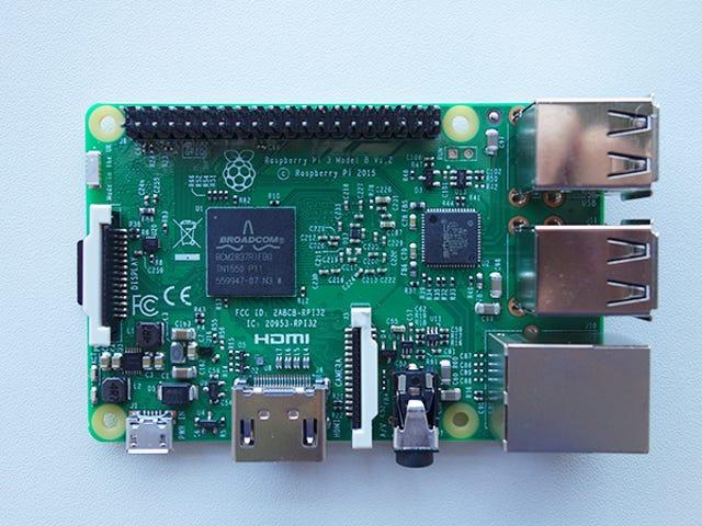 Bạn có thể khởi động Raspberry Pi 3 từ ổ cứng hoặc qua Ethernet