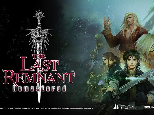 The Last Remnant Remastered A Game Finally Worth your Time