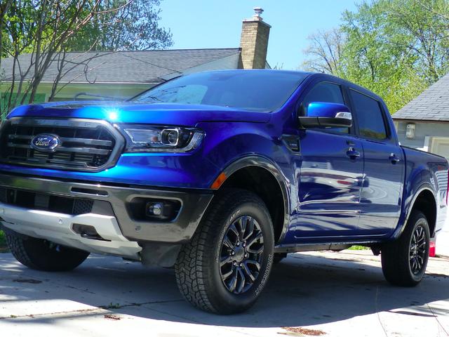 Estoy tomando el Ford Ranger 2019 en un viaje por carretera;  ¿Que quieres saber?