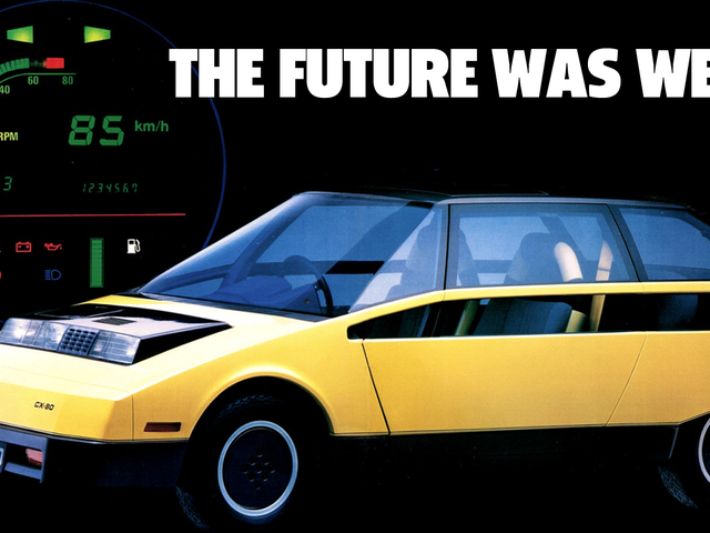 Toyota's 1979 FCX-80 Concept Car Was Extremely Original And Extremely Ugly