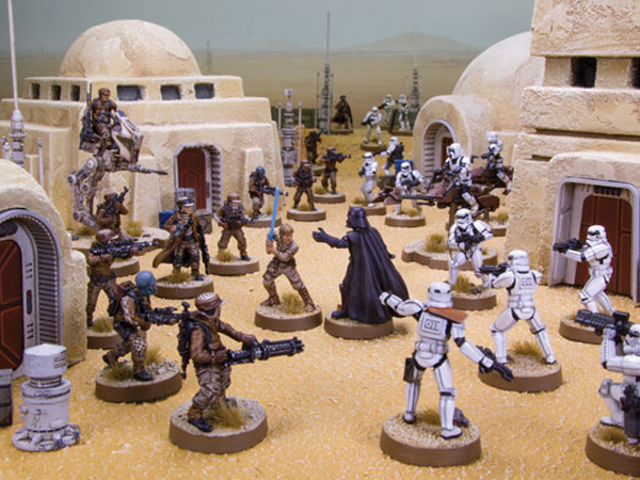 Il gioco Next Star Wars Miniatures è interamente dedicato all'azione Boots on the Ground