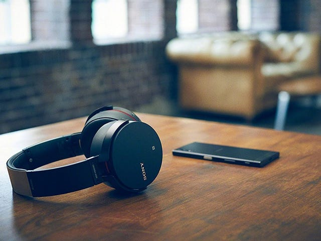 Find Your Happy Place With This Sony Bluetooth Over-Ear Headphone Deal