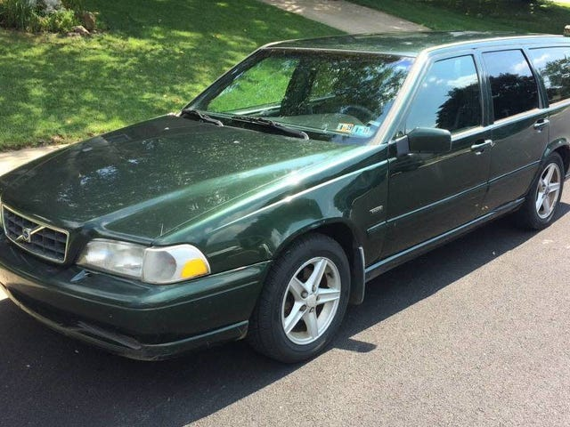 At $1,500, Could This Manual-Equipped 1998 Volvo V70 Mean it's Time to Get Busy?