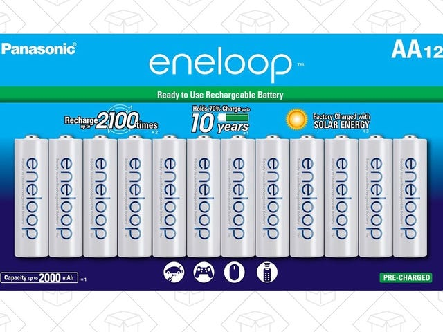 Stock Up On the Best Rechargeable Batteries While They're On Sale