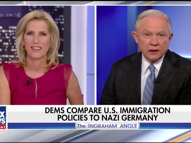 Jeff Sessions Clarifies That the Trump Administration Is Early Nazi, Not Late Nazi