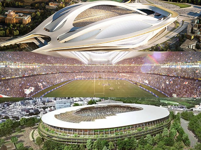 Japonya Olimpiyat Stadı Çarşamba Yolları Değiştirebilir Kentler Spor Tesisleri Yapıyor