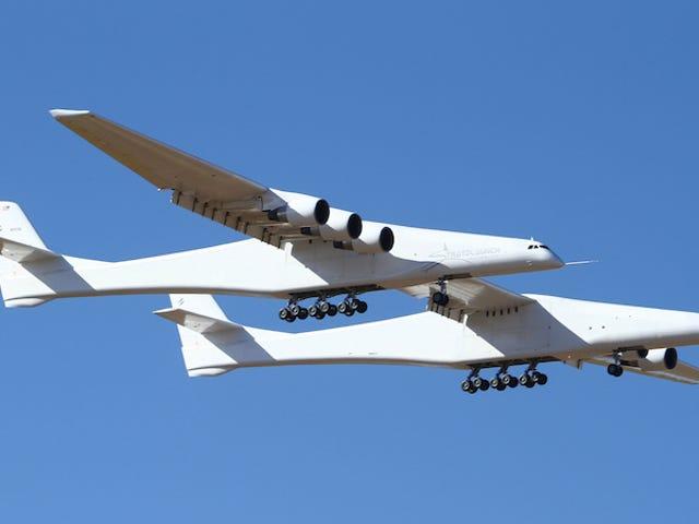 El avión más grande del mundo acaba de realizar su primer vuelo de prueba