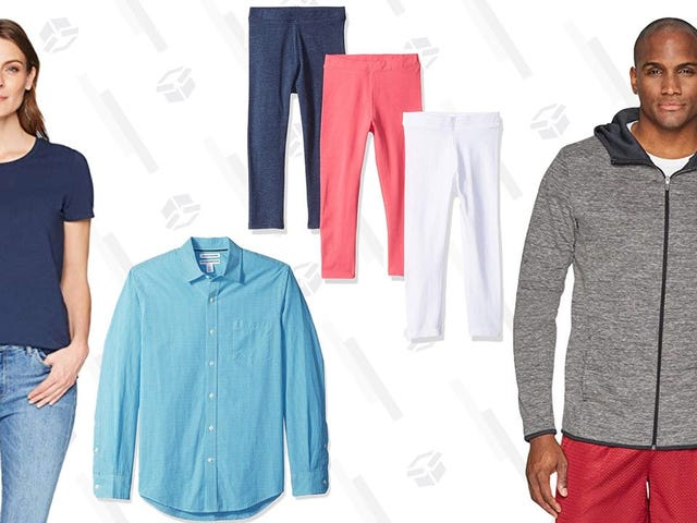 Save An Extra 20% On Already-Affordable Amazon Basics Clothing