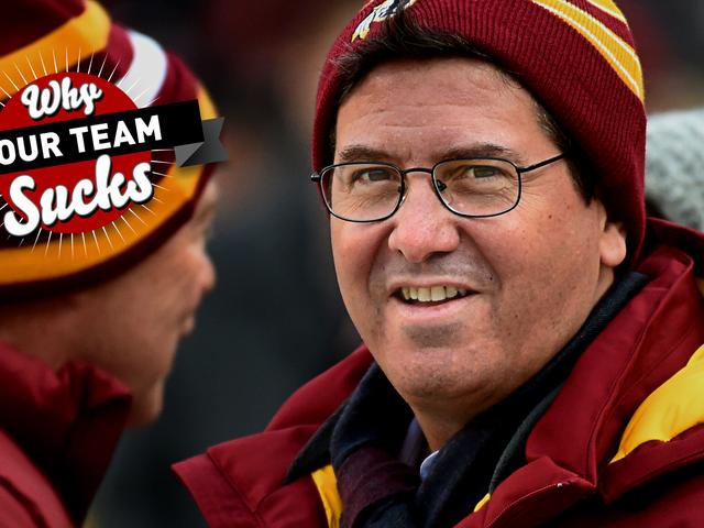 Miksi joukkueesi suutelee 2017: Washington Redskins <em></em>