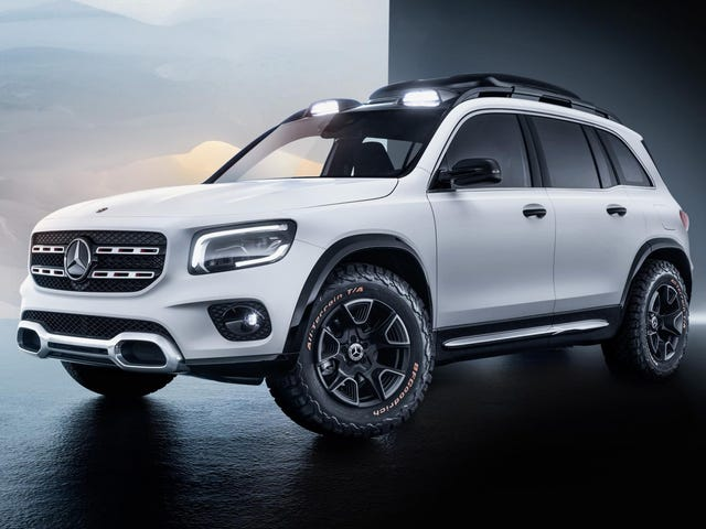 The Mercedes GLB Concept Is How You Make a Crossover 'Rugged'