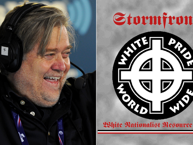 """Stormfront On Steve Bannon's Appointment: """"It Doesn't Get Any Better Than This"""""""