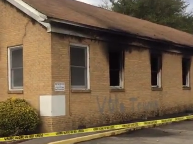 Miss Black Church Burned, Vandalized With Words 'Stem Trump'