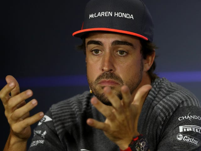 Фернандо Алонсо все еще не уверен, что он останется с командой McLaren F1
