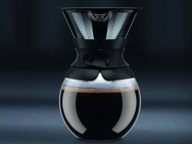 Wake Up to Bodum's Beautiful Pour-Over Coffee Maker, Now Just $21