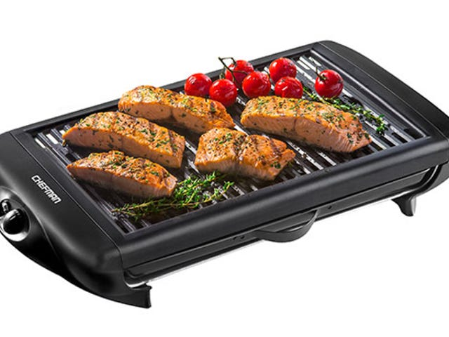 Save 50% On The Chefman Smokeless Indoor Grill ($39)