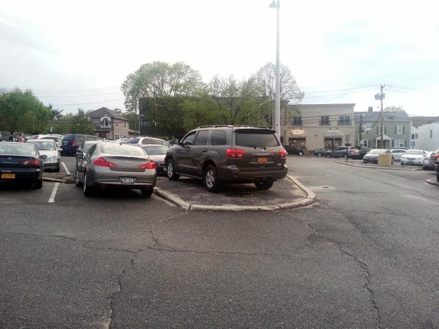 sweet parking job
