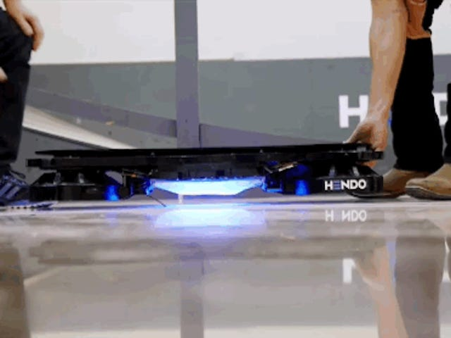 I can't tell what's real anymore; Hoverboard