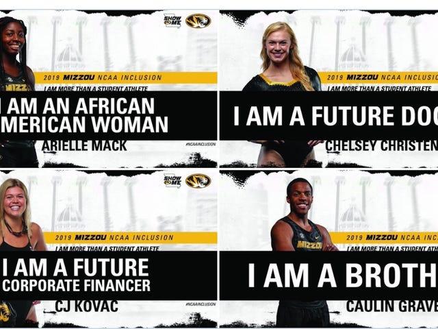 Mizzou Athletics Tweet Célébrer la diversité de ses étudiants-athlètes tourne mal