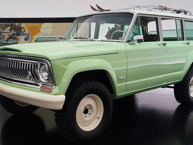 The Jeep Wagoneer Roadtrip Is What Happens When You Take An Old Jeep And Add Perfection