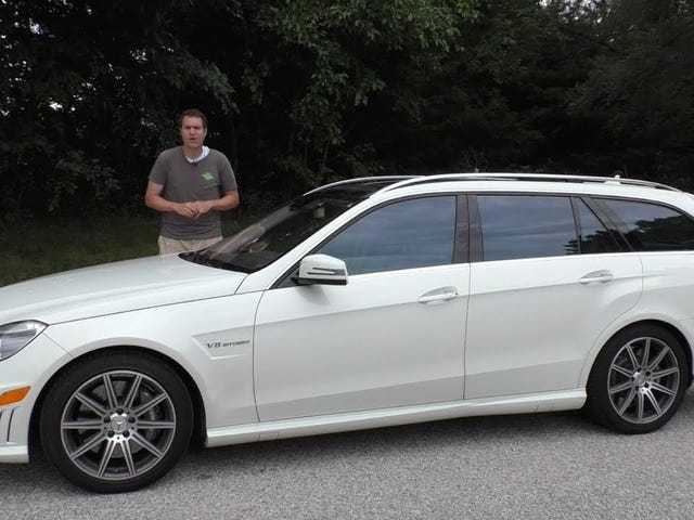 The BEST Part Of Daddy DeMuro's E63 AMG Video?