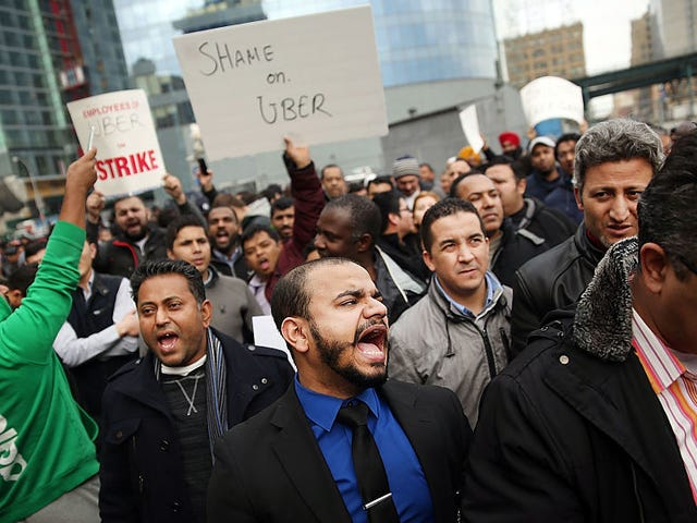 New York Drivers Say Uber Still Owes Them Millions More