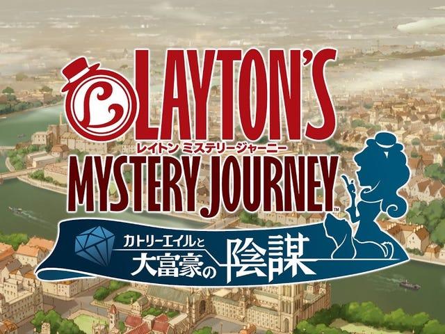 Aquí está el último tráiler de Layton Mystery Journey: Katrielle and the Millionaire's Conspiracy, que