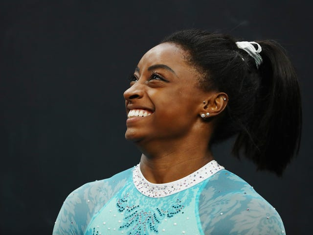 Simone Biles Is Still Making History, Is 1st Woman to Win 5 U.S. All-Around Championships