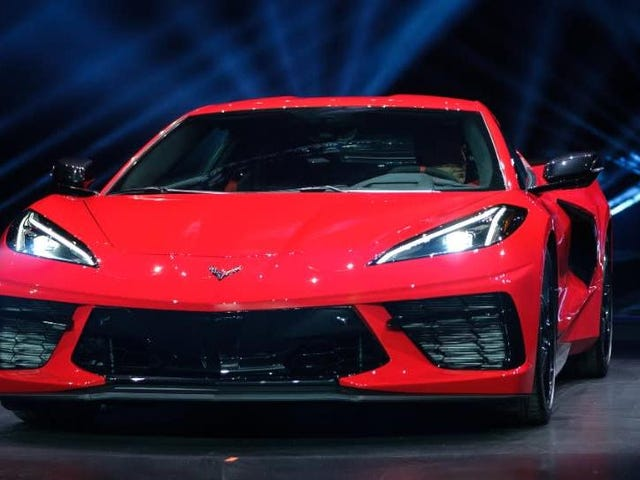 The 2020 Chevy C8 Corvette Will Start At $59,995