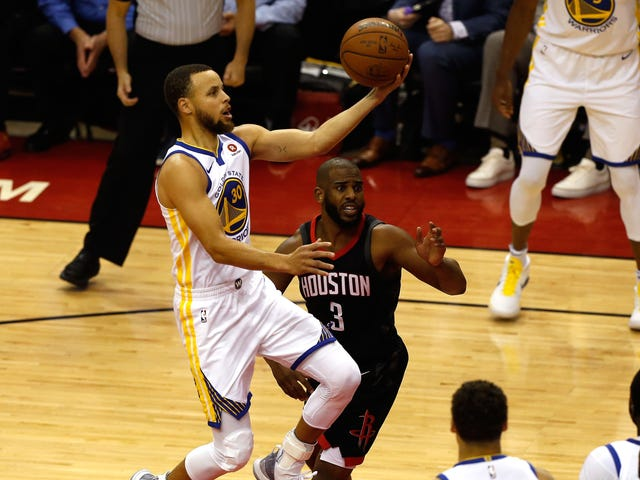 Warriors Edge Out The Rockets In The Game 1 Everybody Expected