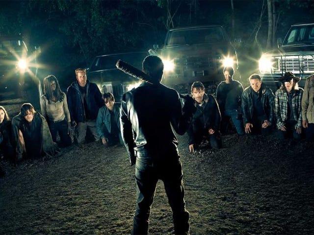 वलियो ला पेना एस्पेपर मेसेज़ पोर ब्र क्रूर रिग्रेसो डे <i>The Walking Dead</i>