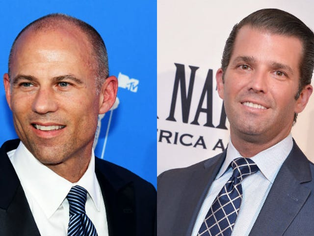 What Time Will Don Jr and Michael Avenatti Fight?