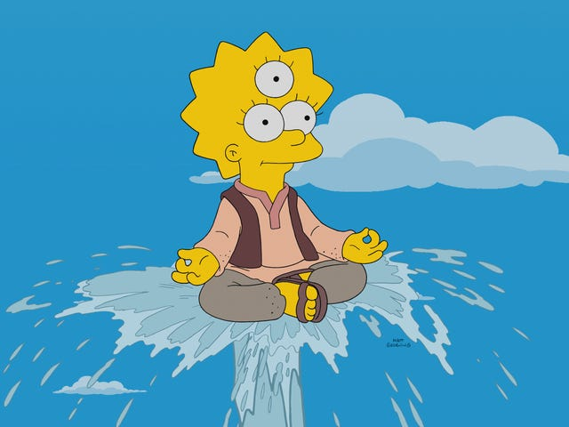 A trio of sweet religious tales sees The Simpsons finding goodness, if not greatness