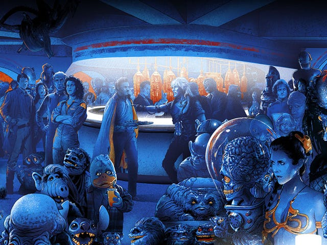 Can You Name Every Alien in This All-Encompassing Scifi Cantina?