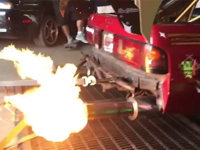 I Need A Car That Shoots Fire Again