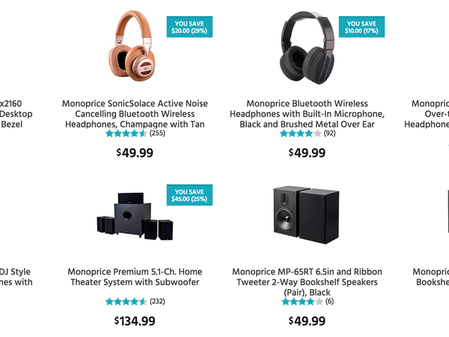Monoprice Is Taking 20% Off Most of Its Site, Today Only