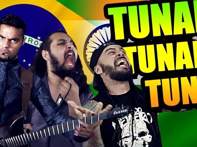 Bloodywood Feat. Bonde do Metaleiro — 'Tunak Tunak Tun' (Metal Version)