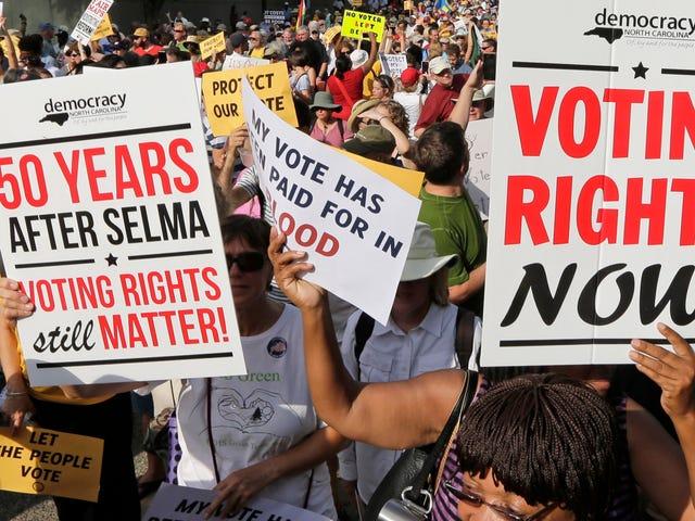 Resistência quarta-feira: #ProtectMyVote