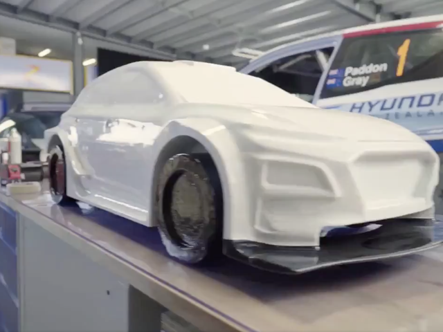 This Hyundai Aims To Be The World's Most Capable Electric Rally Car