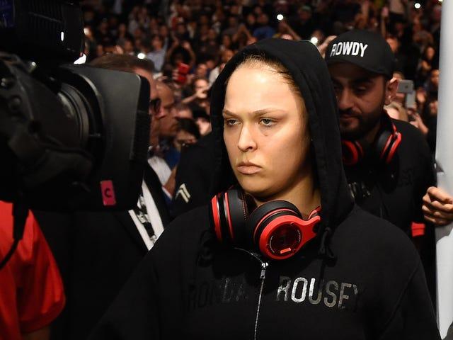 Ronda Rousey no es la mujer cualquiera;  Ella es la primera ronda rousey