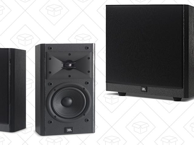Build Your Own Home Theater Audio System With These Huge JBL Discounts