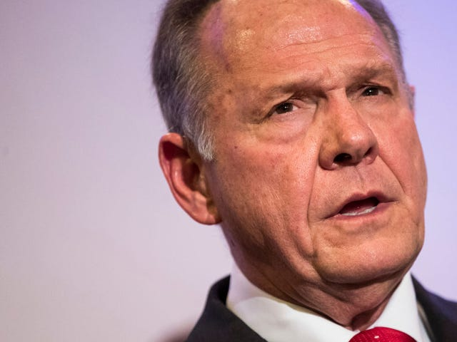 Of Course Roy Moore Is Mad About Felon Voters. Suppressing Black Votes Was a Function of Alabama's Constitution