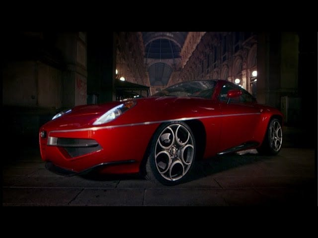 The Alfa Romeo Disco Volante review is the best top gear review