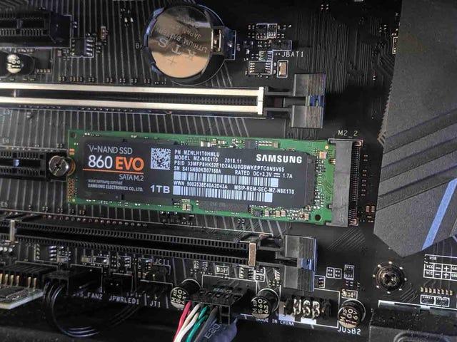 M.2,SATA和NVMe SSD解释:您应该为PC购买哪个?
