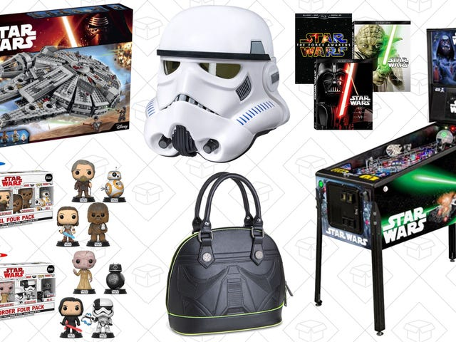 eBay Ain't No Scruffy-Looking Nerf Herder With These Star Wars Day Deals