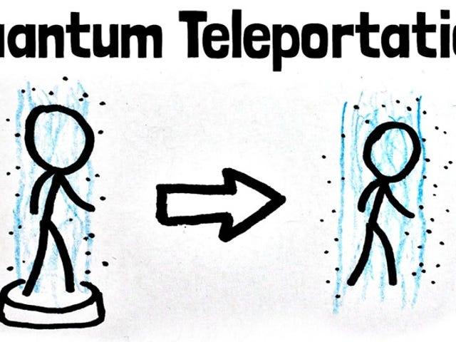 量子力学没有克隆,因此<i>Star Trek</i>运输者真的是一个自杀盒子