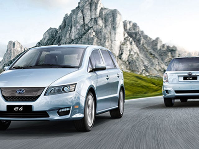 ​Uber Partnering With China's BYD To Use Electric Cars In Chicago