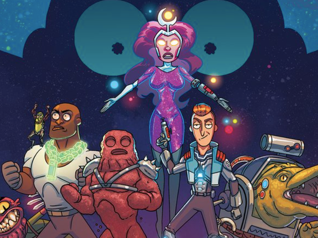 Rick and Morty's Dysfunctional Superheroes Are Getting Their Own Comic
