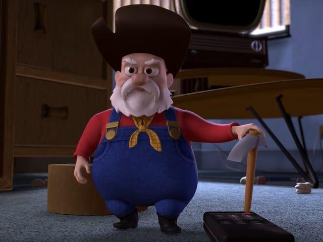 "#MeToo에 비추어 Disney는 최신 버전의 Toy Story 2에서 ""부 루머""장면을 조용히 삭제했습니다."